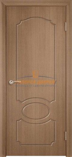Дверь Классика Ф-6 ПГ Орех карамель