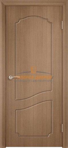 Дверь Классика Ф-7 ПГ Орех карамель