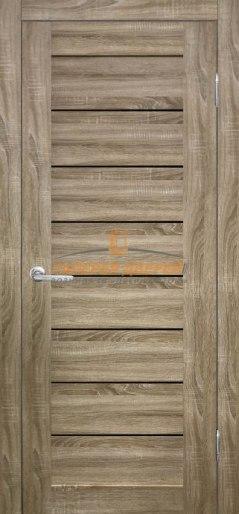 Межкомнатная дверь ФОРУМ Горизонталь Дуб Сонома
