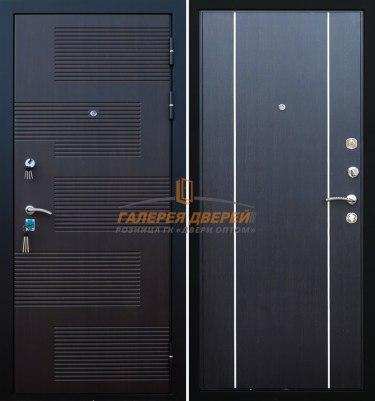 Металлическая дверь Кондор Футура 003 венге