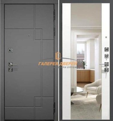 Входная дверь Гарда S19 с зеркалом