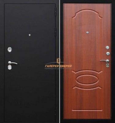 Входная дверь Гарда S2 черный муар/миндаль