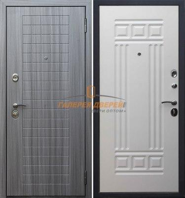 Входная дверь Стандарт S7 серый сандал