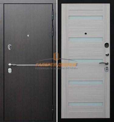 Металлическая дверь Гарда S8 Беленый дуб