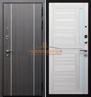 Металлическая дверь Гарда S9 Беленый дуб