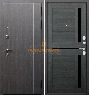 Металлическая дверь Гарда S9 Лиственница серая