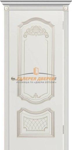 Межкомнатная дверь Гранада ПГ Эмаль белая