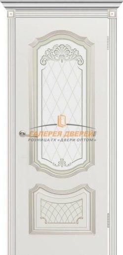 Межкомнатная дверь Гранада ПО Эмаль белая