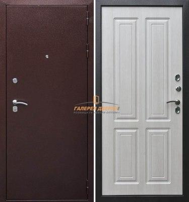 Входная дверь Кондор Изотерма Антик медь/Белый сандал