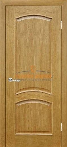 Межкомнатная дверь Капри 3 ПГ Дуб натуральный