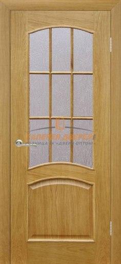 Межкомнатная дверь Капри 3 ПО Дуб натуральный