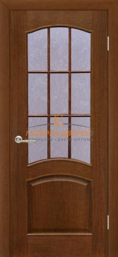 Межкомнатная дверь Капри 3 ПО Дуб тонированный