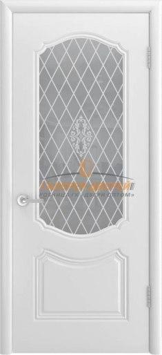 Межкомнатная дверь Классика ПО белая эмаль