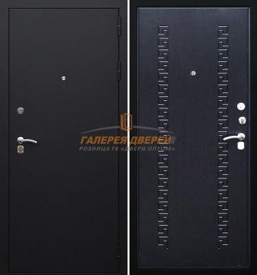 Металлическая дверь Кондор 8 черный муар венге