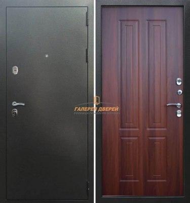 Входная дверь Кондор Изотерма Антик серебро/Орех