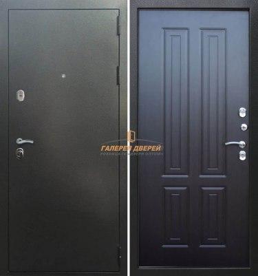 Входная дверь Кондор Изотерма Антик серебро/Венге