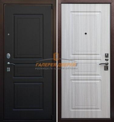 Металлическая дверь Кондор М3 Люкс венге беленый дуб