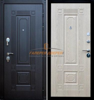 Входная дверь Кондор Мадрид венге беленый дуб
