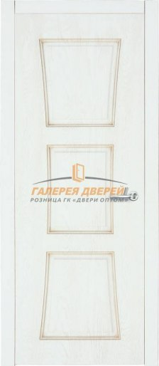 Дверь Квадро 12 ПГ Дуб полярный