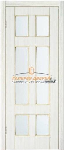 Дверь Квадро 9 ПО Сандал белый