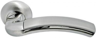 Ручка Палаццо бел. никель/хром (MH-02 SN/CP)
