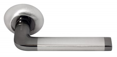 Ручка Колонна бел. никель/ черн. никель (MH-03 SNBN)