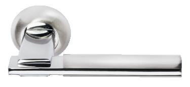 Ручка Упоение бел. никель/хром (MH-13 SN/CP)