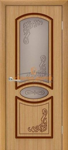 Межкомнатная дверь Муза ПО Дуб