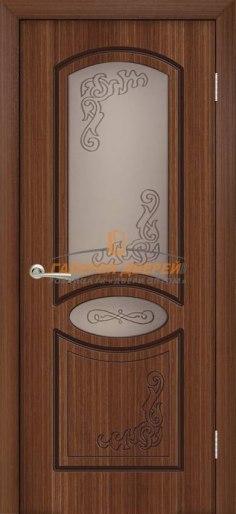 Межкомнатная дверь Муза ПО Орех