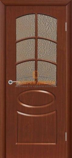Межкомнатная дверь Неаполь ПО Итальянский орех