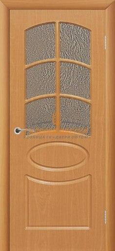 Межкомнатная дверь Неаполь ПО Миланский орех
