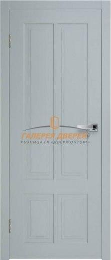 Дверь Новелла 4 ПГ Серый софт премиум