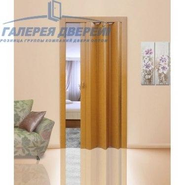 Раздвижная пластиковая дверь (гармошка), ПГ миланский орех
