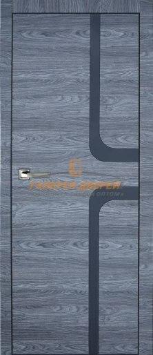 Дверь Платинум 15 ПГ (вяз каньон графит)