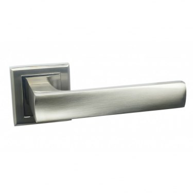 Дверная ручка Рикади матовый хром