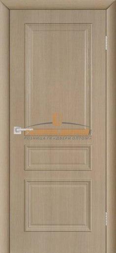 Межкомнатная дверь ПВХ Римини ПГ капучино