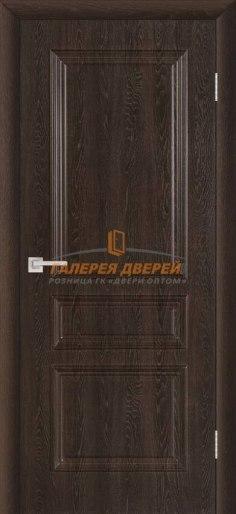 Межкомнатная дверь ПВХ Римини ПГ шоколад