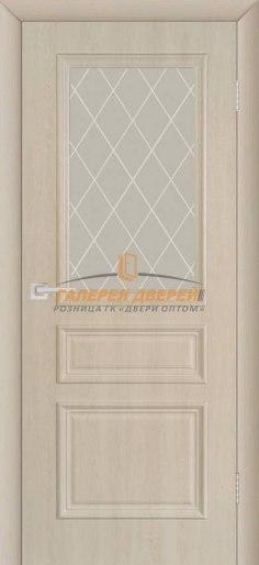 Межкомнатная дверь ПВХ Римини ПО крем