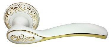 Ручка Catherine белый/золото (MH-36-CLP W/PG)