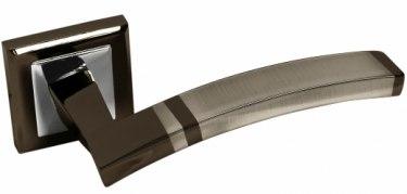 Ручка для межкомнатной двери Тренте черный хром
