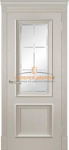 Межкомнатная дверь Шервуд эмаль ПО слоновая кость