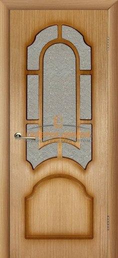 Межкомнатная дверь Соната ПО Дуб