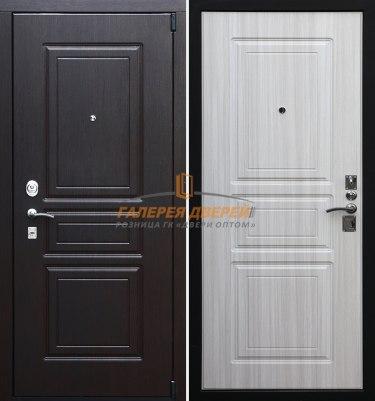 Входная дверь Стандарт S4 белый сандал
