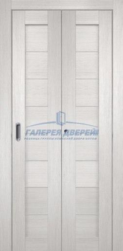 Межкомнатная складная дверь Темпо 10 белый