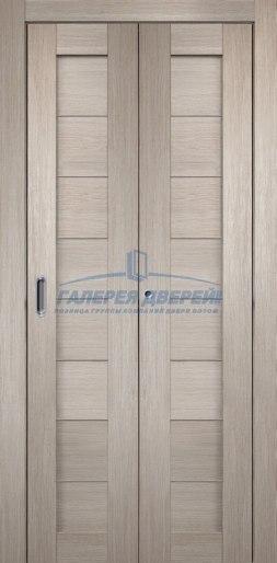 Межкомнатная складная дверь Темпо 10 капучино