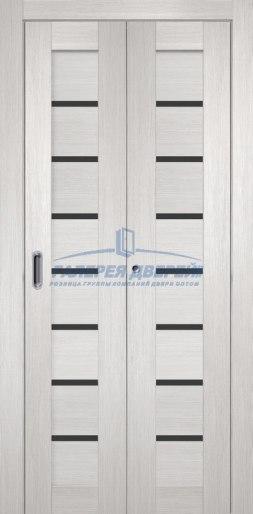 Межкомнатная складная дверь Темпо 11 белый