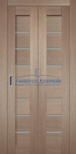 Межкомнатная складная дверь Темпо 11 бруно