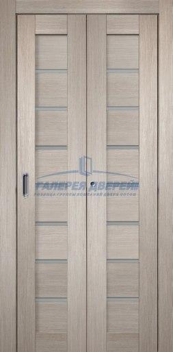 Межкомнатная складная дверь Темпо 11 капучино