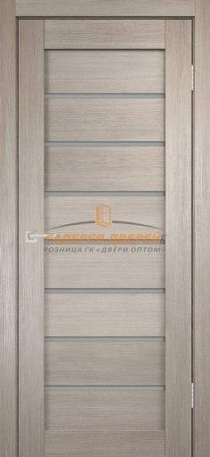 Межкомнатная дверь Темпо 11 велюр капучино