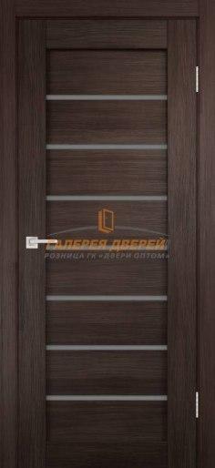 Межкомнатная дверь Темпо 11 велюр венге